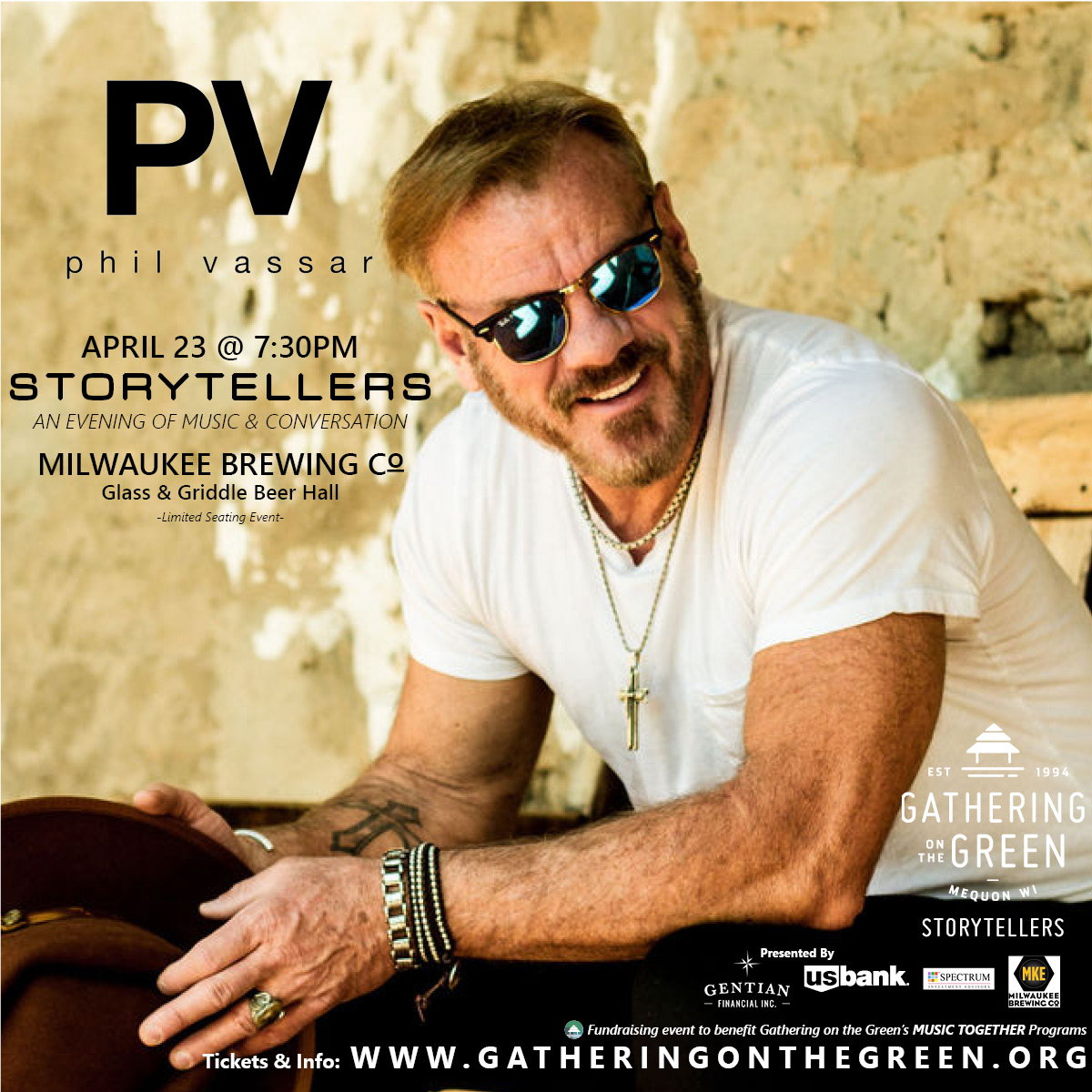 Phil Vassar_Gathering on the Green_Storytellers_FB
