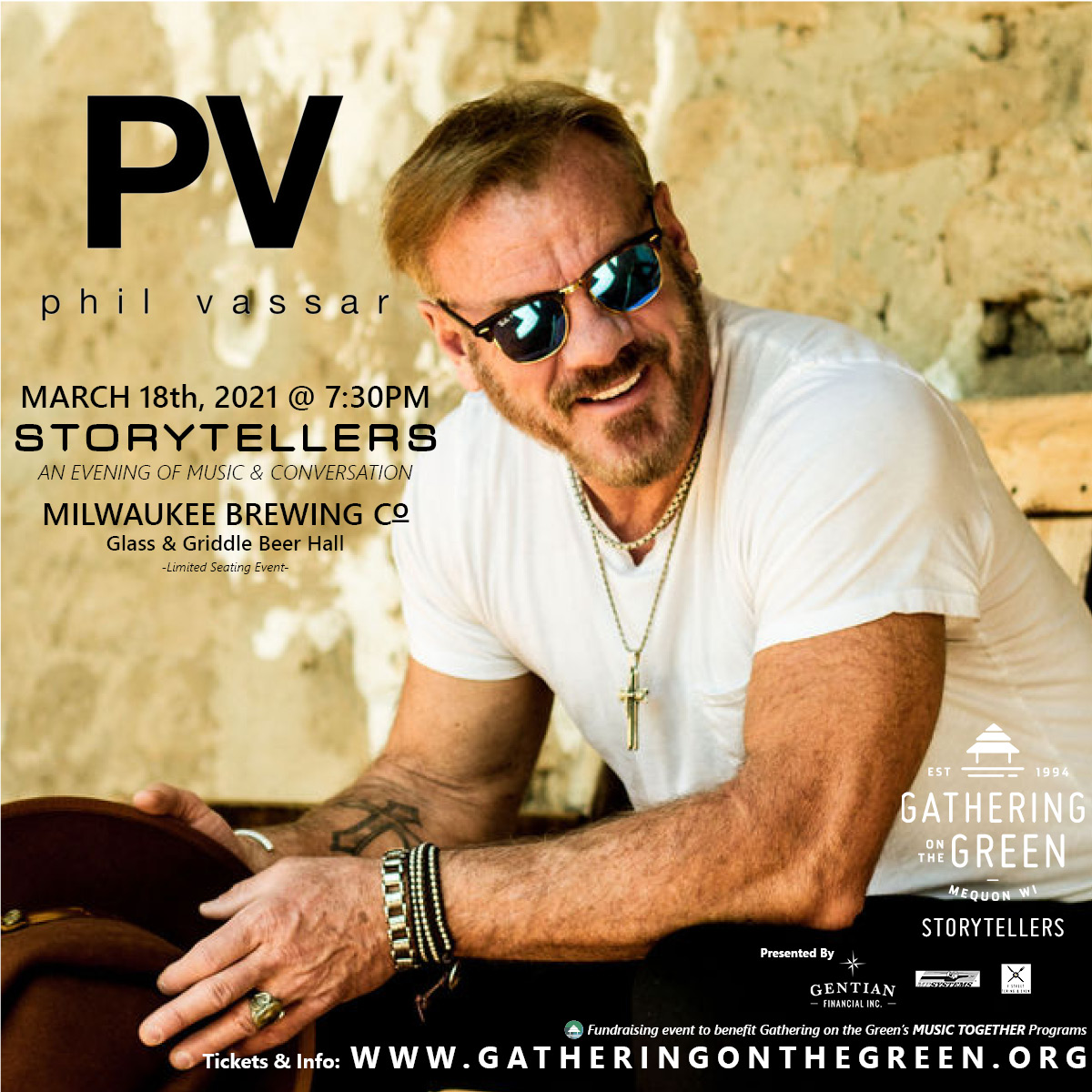 Phil Vassar_4x4_Gathering on the Green_Storytellers_2021