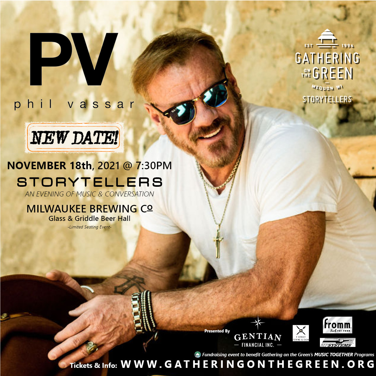 Phil Vassar_4x4_Gathering on the Green_Storytellers_2021_November